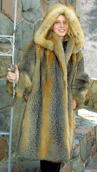 Coyote fur jackets For men & Women for All occasions
