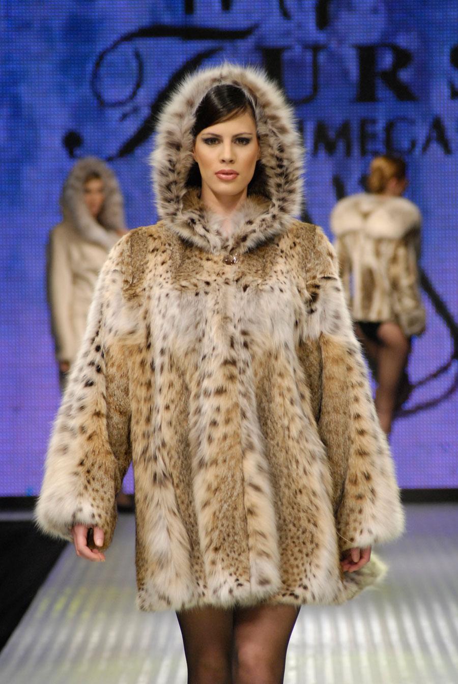 Lynx, Lynxcat, Bobcat Fur Coats