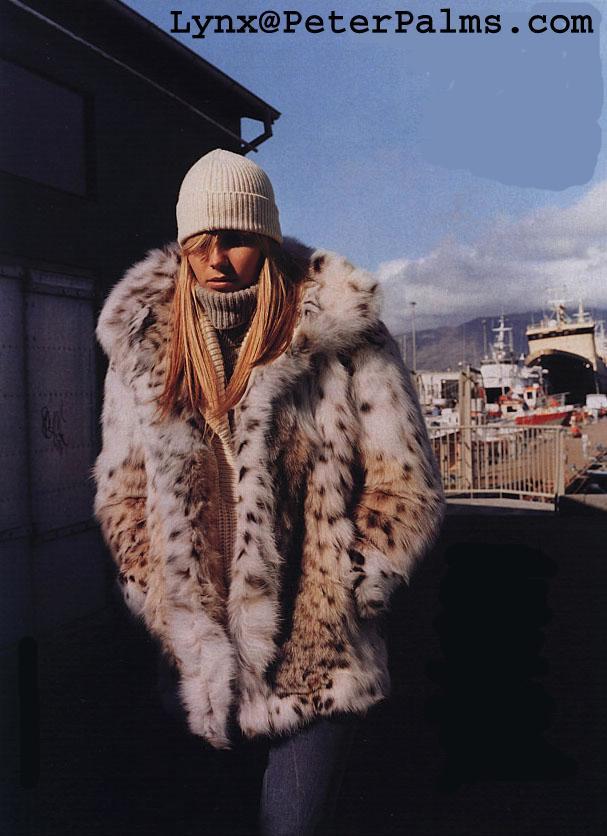 Lynx Lynxcat Bobcat Fur Coats