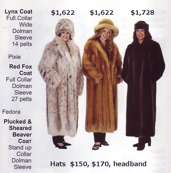 Design and make your own custom fur coat to your measurements